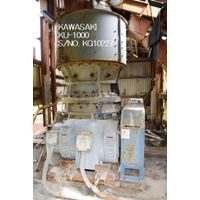 """KAWASAKI"" MODEL KU-1000 (1000MM X 350MM) ULTRA COARSE GYRATORY CRUSHER S/NO. KG10227"