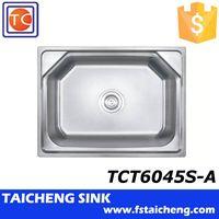 Hexagonal Topmount Sink TCT6045S-A