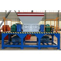 800 Type Waste Plastic Double Shaft Shredder from China