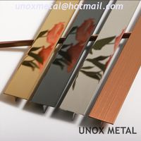 Floor Tile Metal Trim Stainless Steel Profile Tile Edging & Trim
