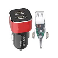 Tiensun PCBA 2.4A Fast Dual Port Car Charger