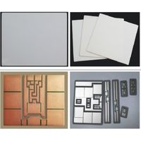 Aluminium Nitride Aln Multi Layers Ceramic Substrates with Thermal Conductivity From 150W/Mk to 190W