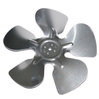 Axial Flow Blade of Aluminum Alloy Cooling Fan Blade