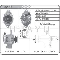REBULIT AUTO TOYOTA FOR ALTERNATOR MOTOR 37060-78156 12357