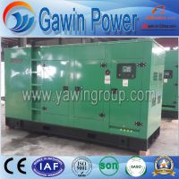 Global Warranty 60kw Cummins Diesel Generating Set Silent Type
