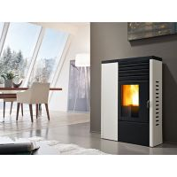 beautiful furniture pellet fireplace, pellet stove for hotel and department