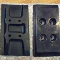 Chain on Type Rubber Pad for Asphalt Paver (300T)