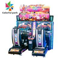 Colorful Park HD Simulator Mini Car Driving Arcade Game Racing Machine for 2 Players thumbnail image
