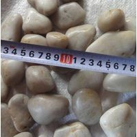 white pebble stone A