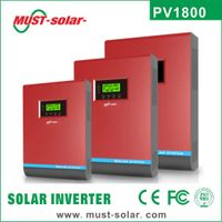 <Must Solar>PV1800 Serie Pure Sine Wave Solar Inverter