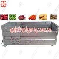 Vegetable Fruit Washing And Peeling Machine On Sale Brush type washing machine thumbnail image