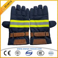 Fire Retardant 6Layer Firefighting Gloves