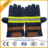 Fire Retardant 6Layer Firefighting Gloves