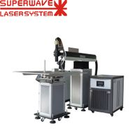 Chinese 200W 400W Fiber Optic Welder / Channel Letter Laser Welding Machine Price thumbnail image