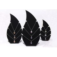 Black Acrylic Jewelry necklace Holder Display Stand