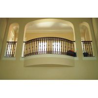 Wrought Iron Balcony Guardrail