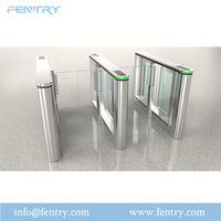 Security RFID Card Access Control Optical Slim Swing Turnstile thumbnail image