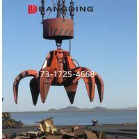 electric hydraulic orange peel grab for scrap thumbnail image