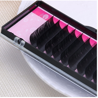 korea silk /mink fur single individual eyelash extension
