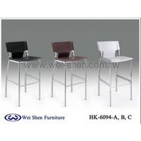Leather High Stools