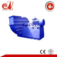 Centrifugal ventilation induced draft fan