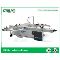 MJ-45KB-2 horizontal cutting saw aluminum and pvc doors and windows machine for machine