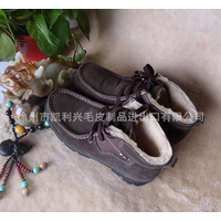 men winter shoes, casual shoe, double face warm boot for men
