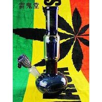 wholesale/retail nice reggae 29CM pipe water glass hookah glass+pipe shisha wholesale with better di thumbnail image