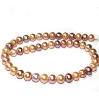 Freshwater pearls necklace 4-12mm earning pendants thumbnail image