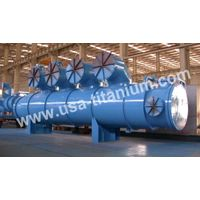USTi Titanium Head Equipment Heat Exchanger  Condenser Vessel