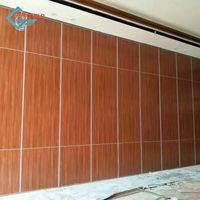 Wood folding partition wall for meeting rooms/auditorium/hotels/exhibition/banquet hall