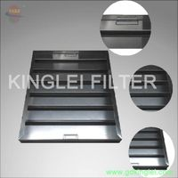 commercial kitchen canopy grease baffle filter