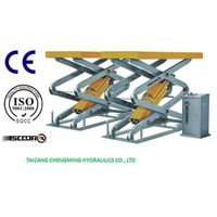 Hydraulic in Ground Full Rise Electrical Scissor Car Lift thumbnail image
