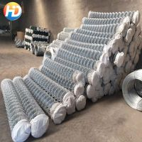 high quality low carbon steel wire Chain Link Fence thumbnail image