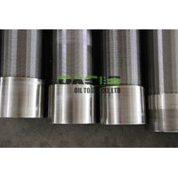 Manufacture Stainless Steel Multilayer Wire Wrapped Pipe Based Screen