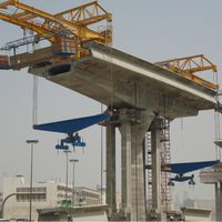 drawing customized 300 ton precast highway deck erection gantry used balanced cantilever method for thumbnail image