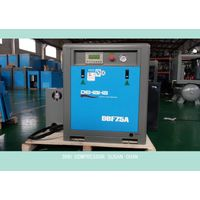 7.5kw variable speed screw air compressor