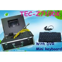 Waterproof Sewer Inspection Camera Equipment Drain Camera for Sale with DVR&Keyboard TEC-Z710DK thumbnail image