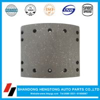 Non-asbestos Brake Lining for DAF trailer brake system brake lining brake shoe