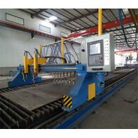 H-Beam CNC Flame/Straight Cutting Machine