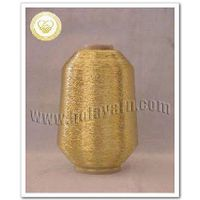 MX-type gold metallic yarn