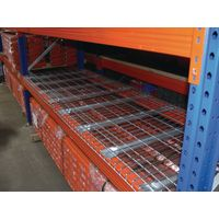 Pallet rack decking wire mesh panel mesh shelving