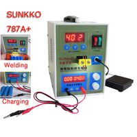 787A+ 2 In 1 Micro-computer Spot Welder & Battery Charger for 18650