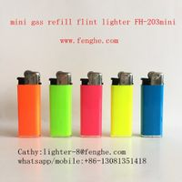 miniFH-203 similar to miniBIC disposable cigarette lighter