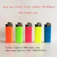 miniFH-203 similar to miniBIC disposable cigarette lighter