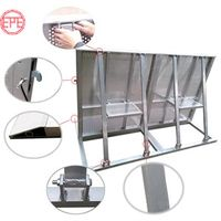Aluminum Mojo Safety Barricade Stage Crowd Control Barrier for Concert Event Show thumbnail image