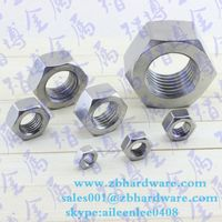 DIN934 stainless steel Hex Head Nuts