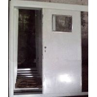 Epoxy Zinc Rich Primer Marine Sliding Door For Wheel Houses , Square Angle