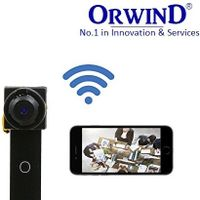 HOT ORWIND Super Mini Spy Cam HD VIEW ANGLE WIFI IP CCTV CAMERA PLUG & PLAY WIRELESS NETWORK EASY thumbnail image