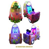 new arrival coin operated games 3d fire truck Kiddie ride swing game machine car racing game machine thumbnail image